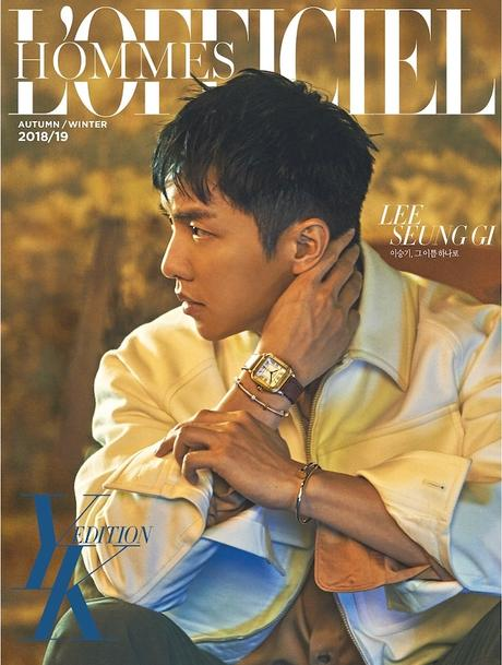 Lee Seung Gi, Lee Seung Gi L'Officiel Hommes, Lee Seung Gi 2018, 이승기