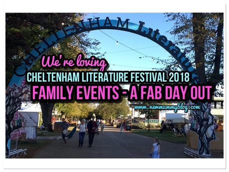 Loving Cheltenham Literature Festival 2018 – Family events a fab day out #cheltlitfest