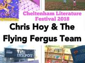 Chris Flying Fergus Team Loving #cheltlitfest Family Events 2018