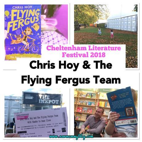 Chris Hoy and the Flying Fergus Team | Loving #cheltlitfest Family Events 2018