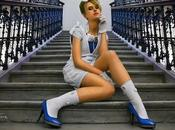 """Before/After Version Heine Photography """"Girl Stairs"""" Avant/Après Photo Fille Dans Escaliers"""""""