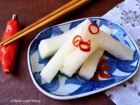 Japanese Daikon Pickles
