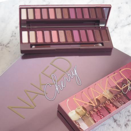 URBAN DECAY NAKED CHERRY EYESHADOW PALETTE – REVIEW AND SWATCHES, COLLECTION DETAILS AND PRICES
