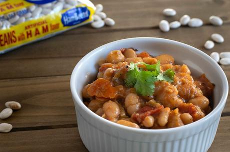vegan ham and bean soup