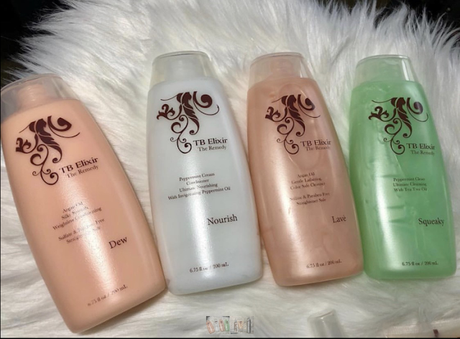 TB Studio and TB Elixir Hair Products