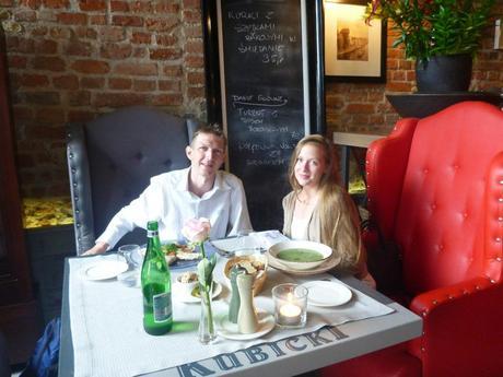 Jonny Blair and Aleksandra Ola Mueller Kokoszkowy St Petersburg Gdansk lies