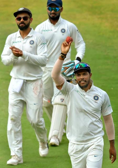 WI falter again ... Umesh Yadav's remarkable feat