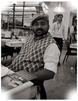 Mahendra Singh at Kotra Haveli