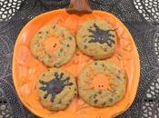 Spooky Spider Chocolate Chip Cookies #Choctoberfest