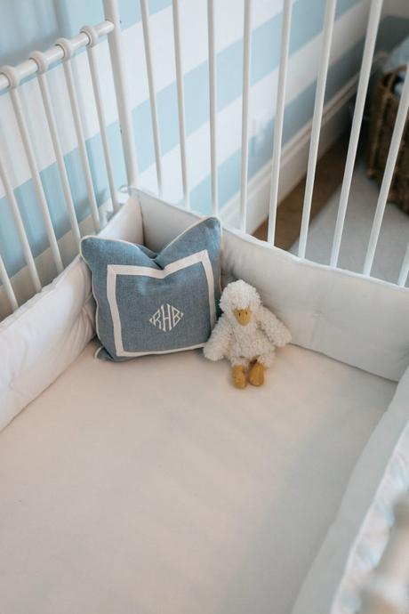 Baby Ralph's new nursery