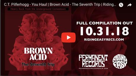 Brown Acid: Seventh Trip Compilation Halloween, Hear C.T. Pilferhogg's 1973 Rager