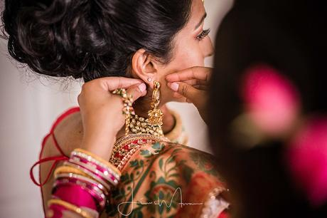 Indian Wedding Bridal Preparations