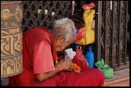 A Nepali slip of the hand