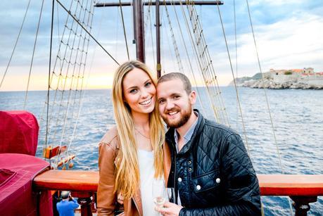 karaka ship dubrovnik, sunset cruise dubrovnik, karaka, croatia,