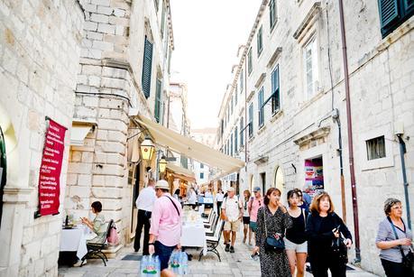 dubrovnik, dubrovnik old town, dubrovnik as a vegetarian, city wall walk,