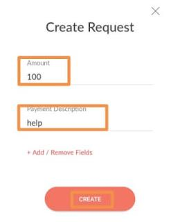 generate link on payunow to accept payment