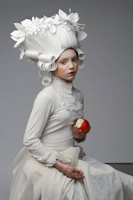 paper arts | baroque paper wigs