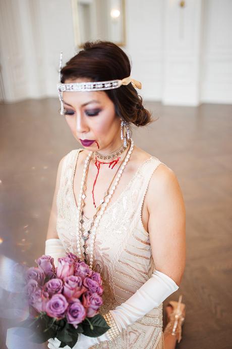 Easy Dead Bride Halloween Costume + The Haunted Adolphus Hotel