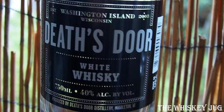 Death's Door White Whiskey Label