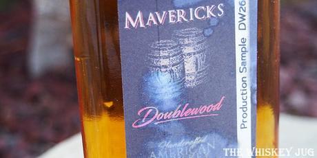 Cali Mavericks DoubleWood Whiskey Label