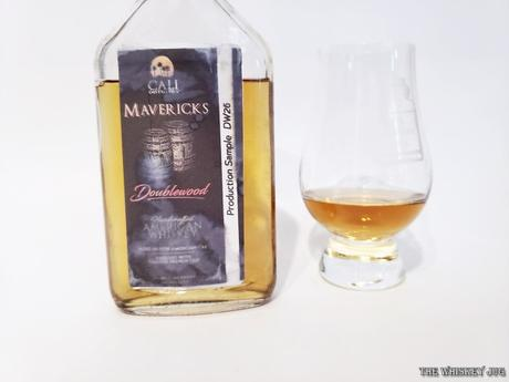 Cali Mavericks DoubleWood Whiskey is California bourbon finished in French Oak.