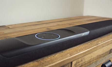 Upgrade Your Home Theater Sound with the New Polk Command Bar with Built-In Alexa!