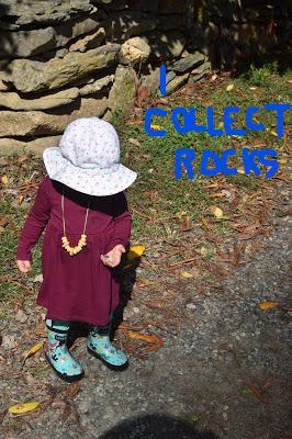 Josie the Rock Collector