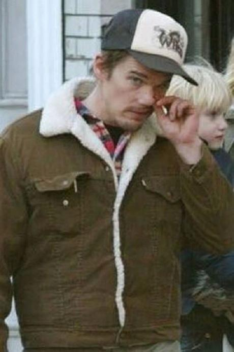 Ethan Hawke Picking His Nose