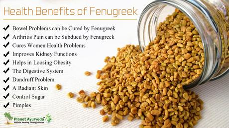 10 Benefits of Beauty and Health by Fenugreek