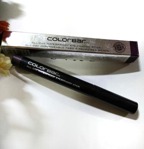 Colorbar All day Waterproof eyeshadow stick review