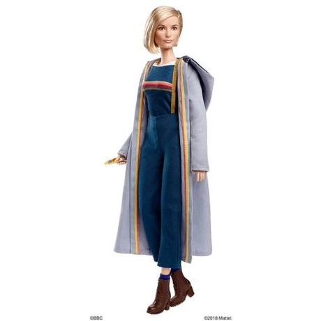 Mattel Introduces Doctor Who Barbie