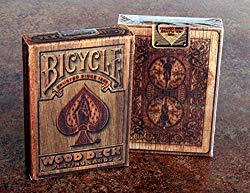 Image: Bicycle Wood Rider Back Playing Cards by Max
