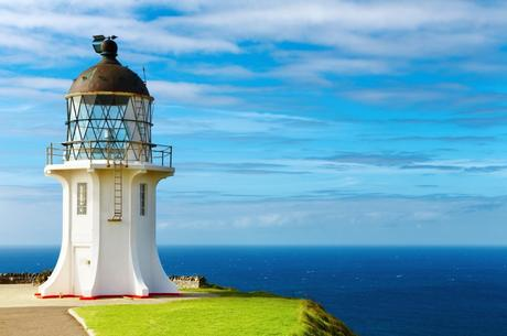 Cape Reinga Lighthouse, north edge of New Zealand