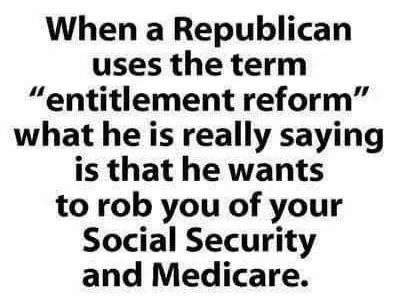 Republicans Poised To Go After Social Security & Medicare