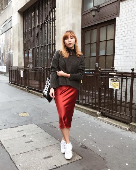THE MOST COVETED TOPSHOP SATIN SKIRT AND HOW TO WEAR IT