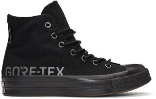 Seal Of Approval:  Converse Black Gore-Tex© Edition Chuck Taylor All-Star 70 Hi Sneaker