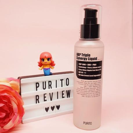 A Gentle Daily Skin Exfoliator: Purito ABP Triple Synergy Liquid Review