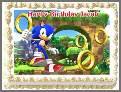 75 Luxury Gallery Of sonic the Hedgehog Birthday Cake toppers