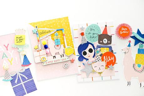 Crate Paper Design Team : Hooray Cards