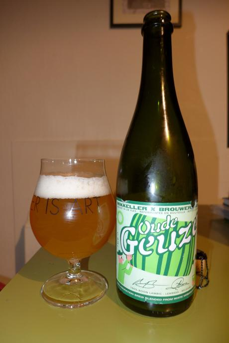 Tasting Notes:  Mikkeller: Boon: Oude Geuze (Vermouth Foeders)