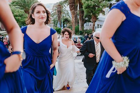 simple chic wedding blue white purple shades-17