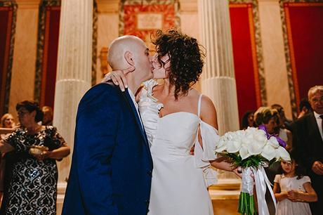 simple chic wedding blue white purple shades-23