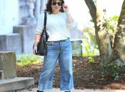 What Wore: Cropped Wide-Leg Jeans