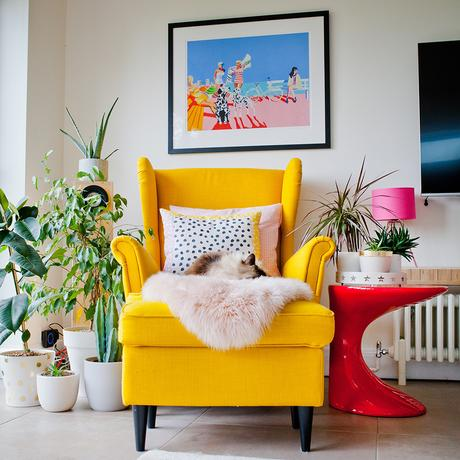 House tour- colourful family home