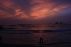 POEM: Sunset on the Sea