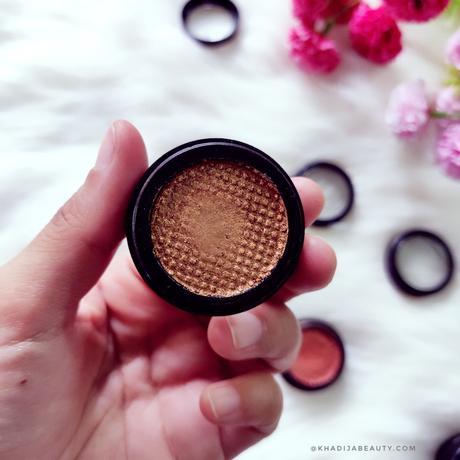 TS cosmetics Velvet eyeshadows review