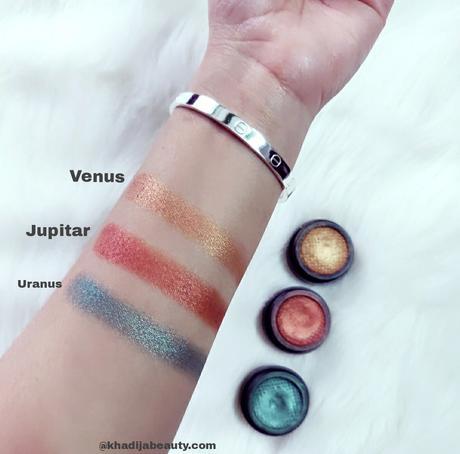 TS cosmetics Velvet eyeshadows review, swatches