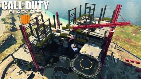 Blackout Construction map
