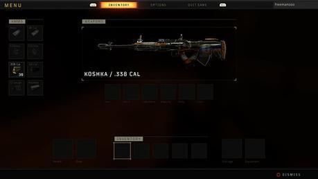Call of Duty Blackout - Koshka sniper rifle