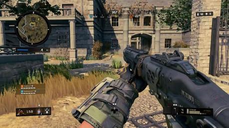 Call of Duty Blackout Asylum map